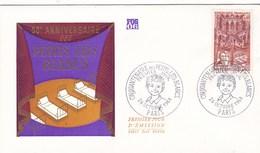 ENV 1ER JOUR CINQUANTENAIRE DES PETITS LITS BLANCS 26/10/1968 (dil372) - 1960-1969