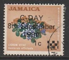 Jamaica  1969 Issue Of 1964 Overprinted 1/1 C/P Multicoloured SW 284 O Used - Jamaica (1962-...)
