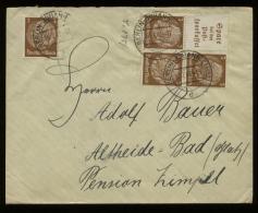 S3113 DR Zusammendruck Auf Briefumschlag: Gebraucht Berlin - Altheide 1941 , Bedarfserhaltung. - Germany