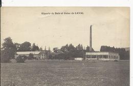 Laval  Raperie De Bois Et Usine - Laval