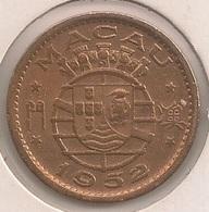 Moeda Macau/Portugal - Coin Macao 10 Avos 1952 - MBC + - Macao