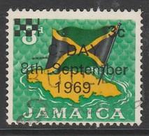 Jamaica  1969 Issue Of 1964 Overprinted 3/3 C/P Multicoloured SW 286 O Used - Jamaica (1962-...)