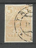 Estland Estonia 1919 Möwe Michel 5 O - Estland