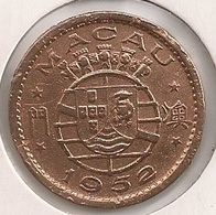Moeda Macau/Portugal - Coin Macao 10 Avos 1952 - BC - Macao