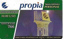 ETECSA - International, National And Local Callings - 10.00 USD - Cuba - Cuba