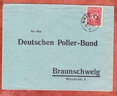 Brief, EF Gewerbeschau, Winhoering Nach Braunschweig 1922 (52944) - Covers & Documents