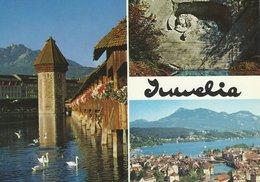 """Juwelia""  - Watches - Jewellery - Souvenirs. Lucerne Switzerland. # 07730 - Advertising"