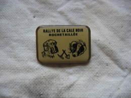 Pin's Courses, Rallyes Automobiles: Rallye De La Cale Noir à Rochetaillée (Dépt 52) - Rallye