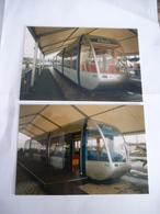 LA ROCHELLE (17) : GEC ALSTHOM 1ère Présentation De La Maquette Du CITADIS 202- Voir Les Scans - Tramways