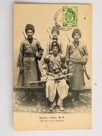 C.P.A. : IRAN, Perse, Les Cosaques, Timbre En 1905 - Iran