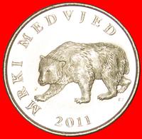 # BEAR: CROATIA ★ 5 KUNA 2011. MINT LUSTER! LOW START ★ NO RESERVE! - Croatia