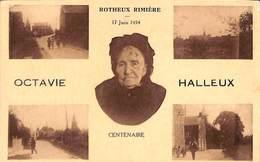 Rotheux Rimière - Centenaire Octavie Halleux (multi-vues 1934, Legia) - Neupre