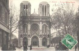 (06) Alpes Maritime - CPA - Nice - Eglise Notre Dame - Monuments, édifices