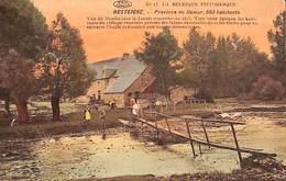 Resteigne - Vue Du Moulin Sur La Lesse (animée, Colorisée, 1914) - Tellin