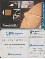 F571.1 TELECARTE Avec  2ème MORENO 50 U  PLEUMEUR BODOU SPORT Et TELECOM - France