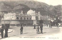 Monaco - CPA - Monte-Carlo - Café De Paris - Monte-Carlo