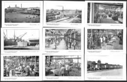 Remicourt - Lot 9 Cartes Les Usines Fabrieken Jules Mélotte (top Animation, Voir Zie Scans) - Remicourt
