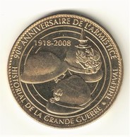 Medaille Arthus Bertrand  80.Thiepval 4 Les Trois Casques 2008 - Arthus Bertrand