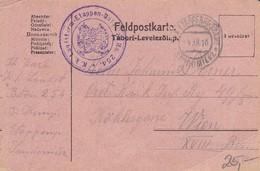 Feldpostkarte - K.k. Landsturm-Etappen-Bataillon No. 254 - 1918 (35276) - Briefe U. Dokumente