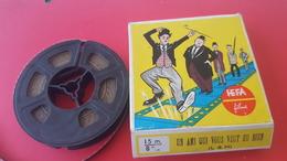 FILM  8 M/M 15 METRES NOIR ET BLANC COMIQUE LAUREL ET HARDY UN AMI QUI VOUS VEUT DU BIEN HEFA FILMS - Other Collections