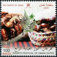 Oman. 2016. 4th Omani Dates Festival (MNH OG **) Stamp - Oman
