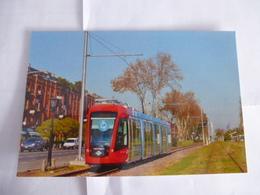 ARGENTINE Buenos Aires : TRAMWAY Motrice Citadis Ex MADRID  En Circulation Sur Une Ligne Du Nord - Voir Les Scans - Tramways