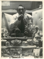 RARE GRANDE PHOTO ORIGINALE DE RAY FAMECHON BOXEUR FORMAT  24 X 18 CM - Boxe