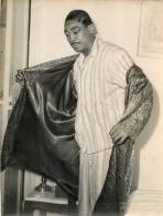 GRANDE PHOTO ORIGINALE  BOXEUR  JIMMY KING  FORMAT  24 X 18 CM - Boxe