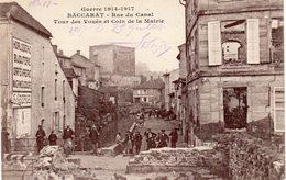 Baccarat - Rue Du Canal - Tour Des Vouées Et Coin De La Mairie - Baccarat