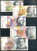 SLOVENIE - Billets De 10, 20, 50, 100 Et 200 Tolarjev (tolars) - Slovenia