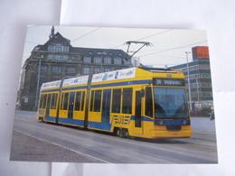 ALLEMAGNE  LEIPZIG : Tramway Duewag-Siemens En Avril 1997 - Voir Les Scans - Tramways