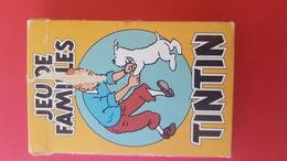 JEU DE FAMILLES TINTIN 1993 HERGE 8 FAMILLES DE 4 CARTES - Speelkaarten
