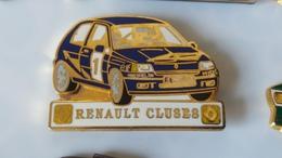 Pin's   RENAULT  CLIO   CLUSES  TOP QUALITE - Renault