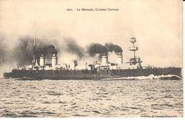 Transports - CPA - Bateaux - Le Montcalm, Croiseur Cuirassé - Guerre