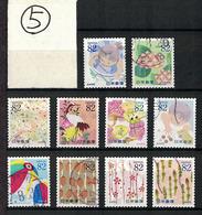 Japan 2015.07.23 Letter-Writing Day (used)⑤ - 1989-... Emperador Akihito (Era Heisei)