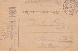 Feldpostkarte - K.k. Landsturminfanteriebataillon Nr. 40 - 1917 (35286) - Briefe U. Dokumente