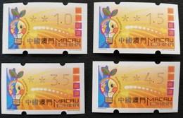 Macau 2000 Postage Labels - 1999-... Chinese Admnistrative Region