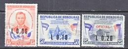HONDURAS  C 316 +    (o)  ABE  LINCOLN - Honduras
