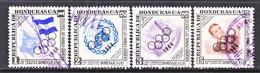 HONDURAS  C 331-4    (o)  OLYMPICS - Honduras