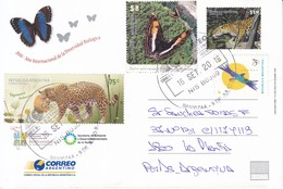2010 AÑO INTERNACIONAL DE LA DIVERSIDAD BIOLOGICA. ENTERO ENTIER POSTAL STATIONERY. OBLIT 2016 9 DE JULIO 2016.- BLEUP - Stamps