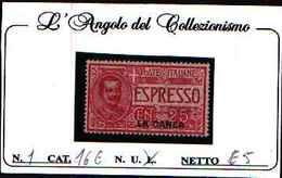 84847) Levante -Espressi Soprastampati La Canea - ESPRESSI 25C. FLOREALE -MLH* - La Canea