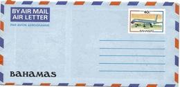 Bahamas Aérogramme 40 Ctes Aerogram Air Letter Entier Entero Ganzsache Lettre Carta Belege Airmail Cover - Bahamas (1973-...)