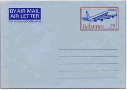 Bahamas Aérogramme N°12 Aerogram Air Letter Entier Entero Ganzsache Lettre Carta Belege Airmail Cover - Bahamas (1973-...)