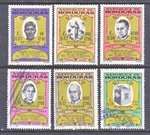 HONDURAS  C 369-74  (o)   MISSIONARY - Honduras