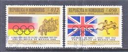 HONDURAS  C 433-4  (o)  OLYMPICS  GERMANY  G.B. - Honduras