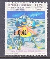 HONDURAS  C 500   (o)  SPACE   MOON  LANDING - Honduras