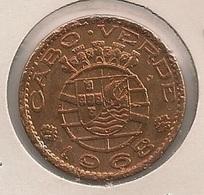Moeda Cabo Verde Portugal - Coin Cabo Verde -  50 Centavos 1968 - MBC - Cape Verde