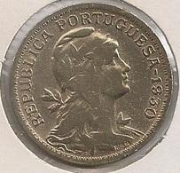 Moeda Cabo Verde Portugal - Coin Cabo Verde - 50 Centavos 1930 - MBC - Kaapverdische Eilanden