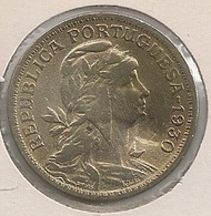 Moeda Cabo Verde Portugal - Coin Cabo Verde - 50 Centavos 1930 - BC + - Cap Vert