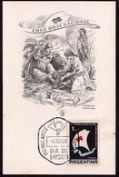 Argentina - Carta Maxima - 1959 - Croix-Rouge Argentin - Croix-Rouge